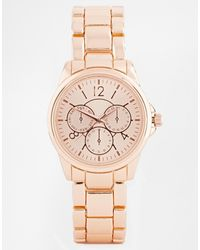 Asos Pink Girlfriend Watch - Lyst