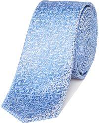 Kenneth Cole   Davin Textured Jacquard Silk Tie   Lyst