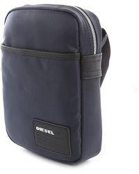 Diesel Blue Fuzzy Nylon Bag - Lyst