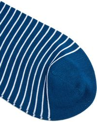 Sunspel | Striped Cotton-blend Socks | Lyst