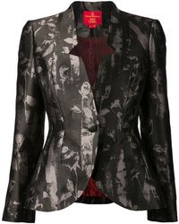 Vivienne Westwood Red Label Rose Print Blazer - Lyst