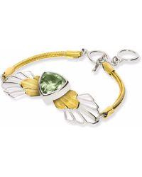 Anna Byers - Green Quartz Bracelet - Lyst