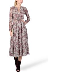 Burberry Prorsum 34 Length Dress - Lyst