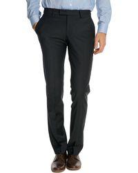 Celio Club Fcoplane Navy Suit Trousers - Lyst