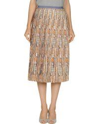 Suno 3/4 Length Skirt - Lyst