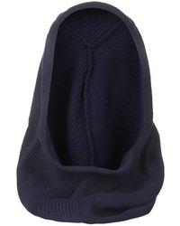 Topshop Blue Hooded Snood - Lyst