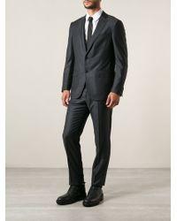 Ermenegildo Zegna Slim Fit Pinstripe Suit - Lyst