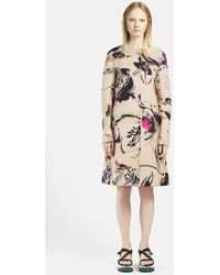 Marni Garden Print Long Cotton Coat - Lyst