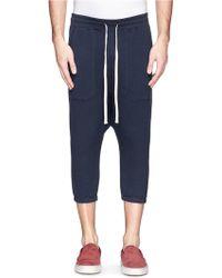 NLST - Cotton Harem Shorts - Lyst