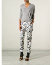 Jil Sander Tapered Trousers - Lyst