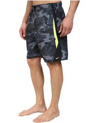 "Nike Zephyr Camo 9"" Volley Short - Lyst"