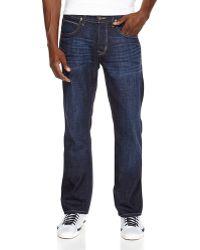 Hudson Byron Straight Leg Jeans - Lyst