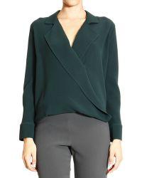 Giorgio Armani Shirt Long Sleeve Silk - Lyst