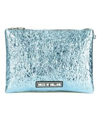 House of Holland - Women's Cuki Patch Clutch - Lyst