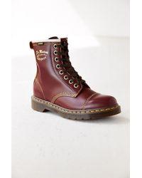 Dr. Martens Purple Capper Boot - Lyst