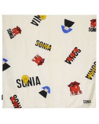Sonia Rykiel Printed Silk Twill Scarf - Lyst
