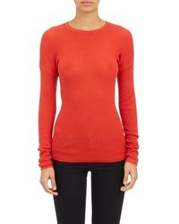 Derek Lam Drop-Shoulder Pullover Sweater - Lyst