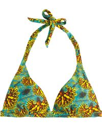 J.Crew Preorder Bantu For Jammin Halter Top in Reef Print - Lyst