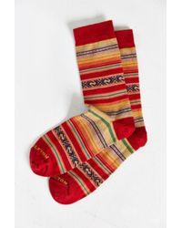 Pendleton Casa Grande Stripe Crew Sock - Lyst