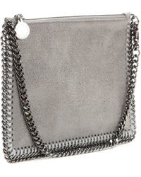 Stella McCartney Falabella Shaggy Deer Clutch - Lyst