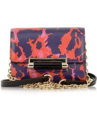 Diane von Furstenberg 440 Micro Mini Leather Shoulder Bag - Lyst