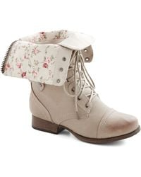 ModCloth Naturally Timeless Boot - Lyst
