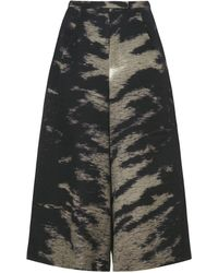 Whistles - Tiger Print Culotte - Lyst