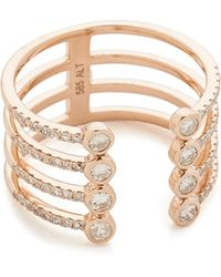 Luna Skye - Eight Diamond Open Band Ring - Lyst