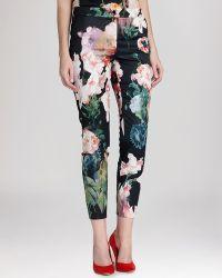 Ted Baker Pants - Aasha Opulent Bloom Print - Lyst