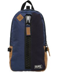 Supe Design - Techno Canvas Backpack - Lyst