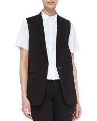 J Brand Poitier Oversize Suit Vest - Lyst