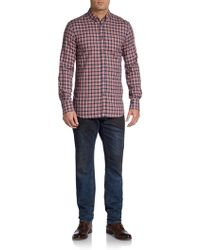 DSquared2 Plaid Sportshirt - Lyst