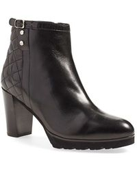 Anyi Lu Nicky Burnished-Leather Boots