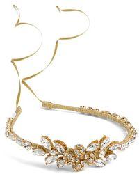 Nestina Accessories - 'calliope' Crystal Head Piece - Metallic - Lyst