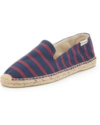 Soludos Striped Espadrille Loafer - Lyst