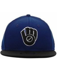 New Era Milwaukee Brewers 2tone 59fifty Cap - Lyst