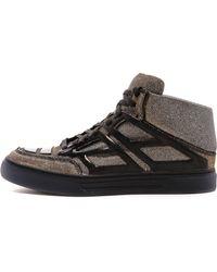 Alejandro Ingelmo Tron Metallic Sneakers - Lyst