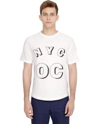 Originals x Opening Ceremony Cotton Jersey Baseball Tshirt - Lyst