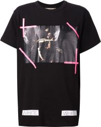 Off-white New Caravaggio Cotton T-shirt - Lyst