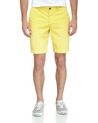Superdry Commodity Twill Chino Shorts - Lyst