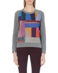 Paul by Paul Smith - Reversible Loop Back Cotton Sweatshirt - Lyst