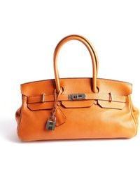 Hermès Preowned Birkin Jpg Orange Togo 42Cm orange - Lyst