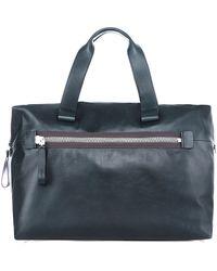 Lanvin - Zipped Bowling Bag - Lyst