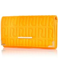 River Island Orange Ri Embossed Purse - Lyst