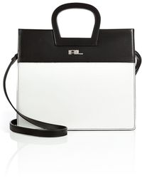 Ralph Lauren Collection Leather Handbag - Lyst