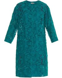 Nina Ricci Guipure-Lace Evening Coat - Lyst
