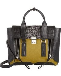 3.1 Phillip Lim Hair Medium Pashli Satchel - Lyst