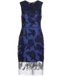 Vera Wang | Knee-length Dress | Lyst