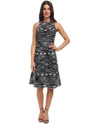 M Missoni Crochet Zig Zag Dress - Lyst
