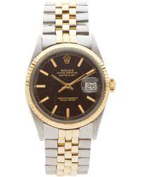 CMT Fine Watch And Jewelry Advisors - Rolex Tt Datejust - Lyst